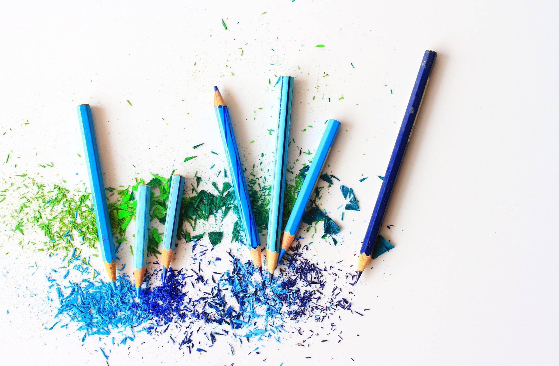 青ペンで記憶力アップ